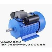 Electric Gear Motor - elektro motor horizontal 1 phase 1