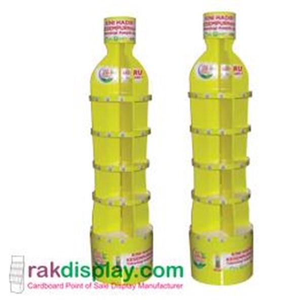 Rak Pajang Botol Teh  By PT. Prima Indo Grafika
