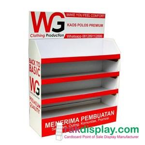 rak karton baju By PT  Prima Indo Grafika
