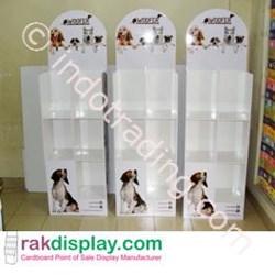Rak Display Makanan Anjing By Prima Indo Grafika