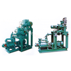 Roots Pump Vacuum Sistem Dengan Liquid Ring Vacuum Pumps