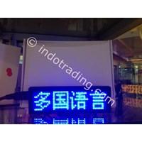 Beli Running Text Display Portable (Nametag Digital Portable) 4