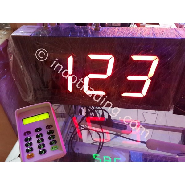 The Counter Of The Queue-Queue Display Machine