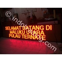 Jual Running Text Display (Multi Color) 2
