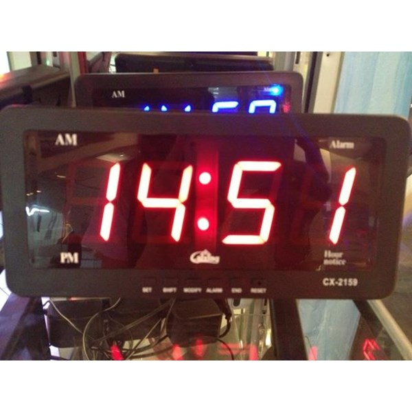 DIGITAL CLOCK CX - 2159