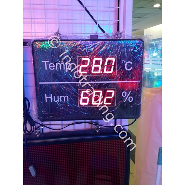 Temperature And Humidity Display