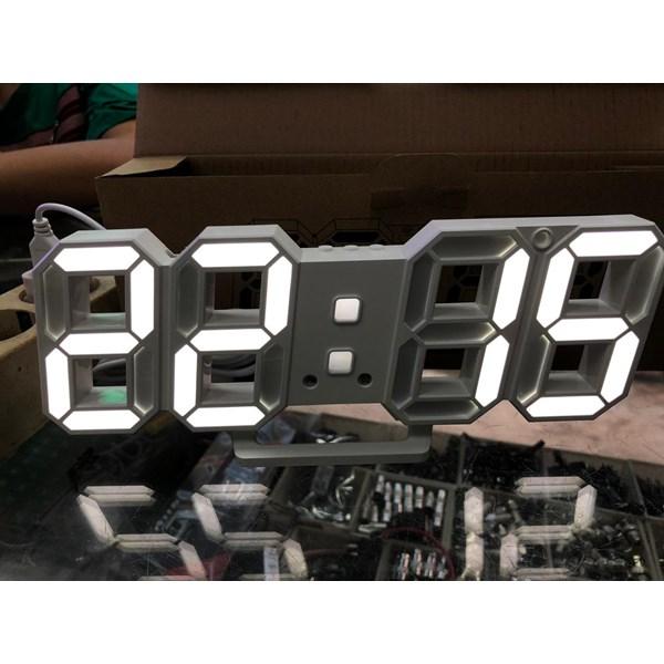 DISPLAY SEGMENT DIGITAL CLOCK DS 6609