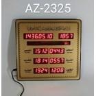 LED DISPLAY JADWAL SHOLAT DIGITAL AZ-2325 1
