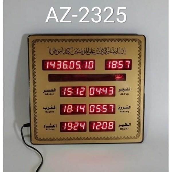 LED DISPLAY JADWAL SHOLAT DIGITAL AZ-2325
