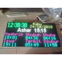 JADWAL SHOLAT RUNNING TEXT