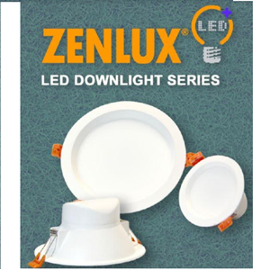 Lampu LED Downlight Zenlux