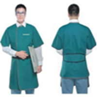 Lead Apron Short-Sleeve Single Sided