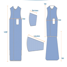 Lead Apron Model STA-X (Single sided)