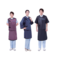 Jual Lead Apron Model STA-P (Police Style Two Parts Apron With Long Pants) 2