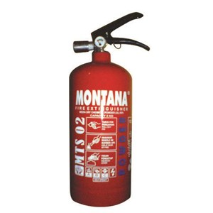 Fire Extinguisher Montana 2 Kg