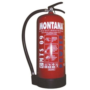 Fire Extinguisher Montana 9 Kg