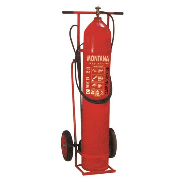 Pemadam Api Montana Co2 23Kg Trolley Type