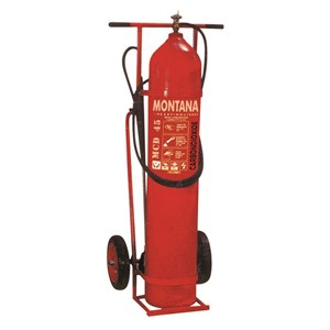 Fire Extinguisher Montana Co2 45Kg Trolley Type