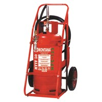 Fire Extinguisher Montana Hfc 123 Trolley Type 50Kg