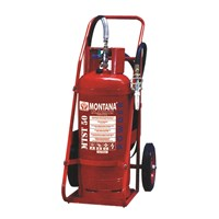 Pemadam Api Montana Powder Trolley Type 50Kg