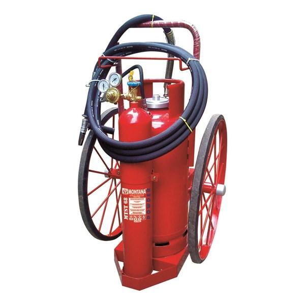 Fire Extinguisher Montana Trolley Type 68Kg