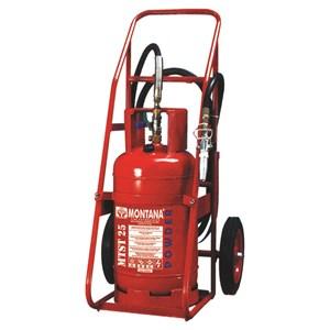 Pemadam Api Montana Powder Trolley Type 25Kg
