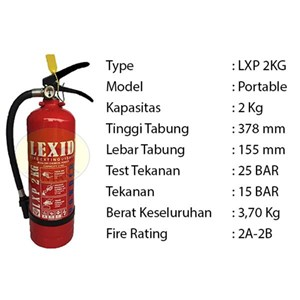Pemadam Api Lexid Lxp02 2Kg