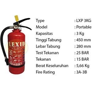 Pemadam Api Lexid Lxp03 3Kg