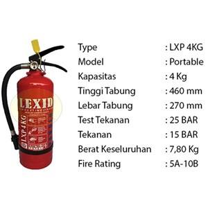 Pemadam Api Lexid Lxp04 4Kg
