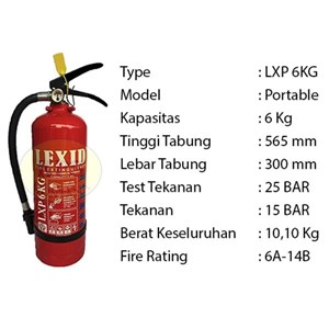 Pemadam Api Lexid Lxp06 6Kg