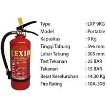 Pemadam Api Lexid Lxp 09 9Kg