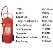Pemadam Api Lexid Lxp 900 90Kg Trolley