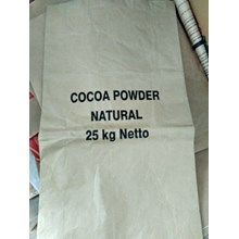 Kraft Paper Bag Coklat Bubuk
