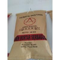 Kantong semen mortar 40 Kg Paper bag