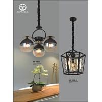 Jual Lampu Gantung LED Supra tipe xyz