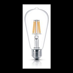 Lampu LEDClassic Philips ST64 7.5W E27 Dim