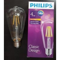 Jual Bohlam LEDclassic Philips ST64 4W E27 Non DIM 2