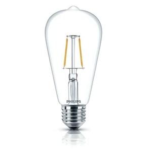 Bohlam LEDclassic Philips ST64 4W E27 Non DIM