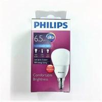 Bohlam LEDBulb Philips 6.5-60W P50 E14 CDL/WW 1