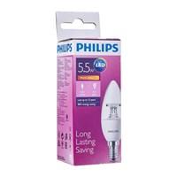 Jual Lampu LEDBulb Philips 5.5-40W B35 CL E14 2700K 2