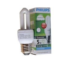Distributor Lampu Bohlam Philips Essential 5W CDL/WW 3