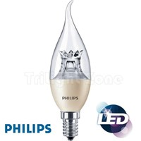 Bohlam LED Philips MAS LEDCandle DT 4W E14 BA38 CL 1