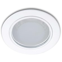 Lampu Downlight PHILIPS DOWNLIGHT 13803 Glass Recessed White Rumah Lampu 3.5