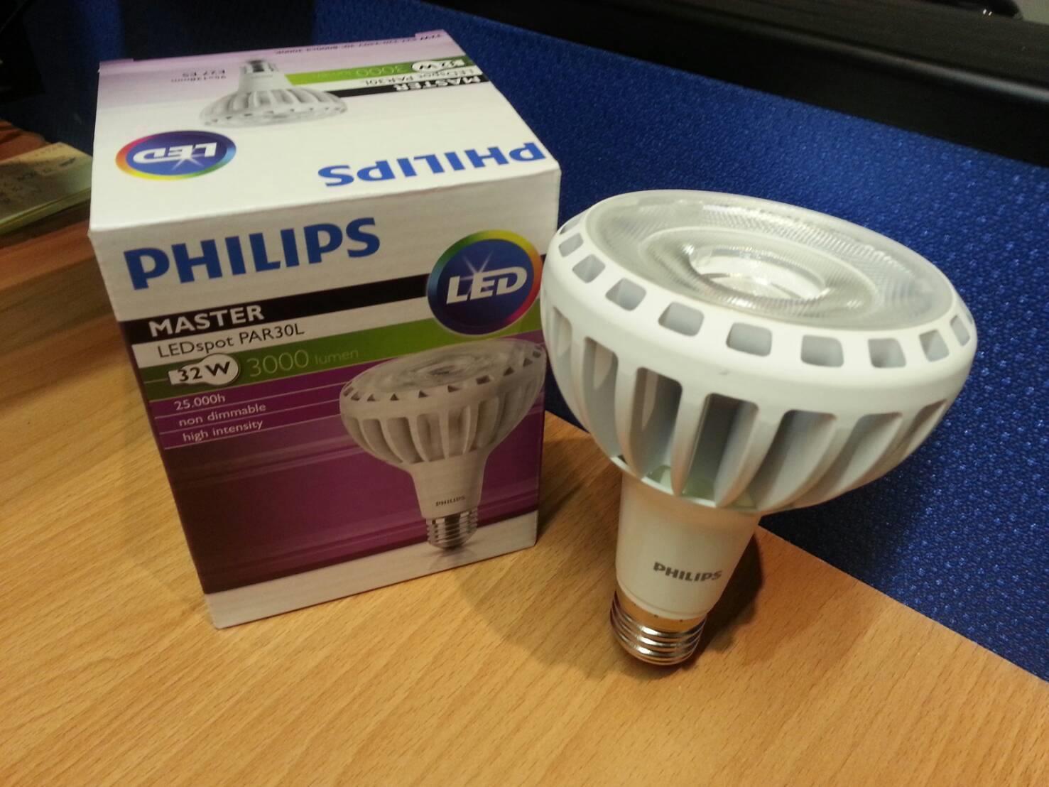 Jual Lampu Led Par30l Philips Master 32w 30d 3000k So