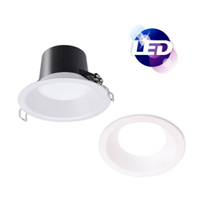 "Lampu Downlight LED PHILIPS DN035B 8"" 16W PSU WH D200 1500lumen"