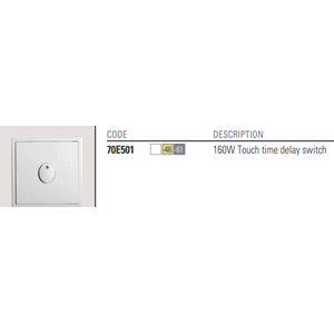 Simon Touch time delay switch