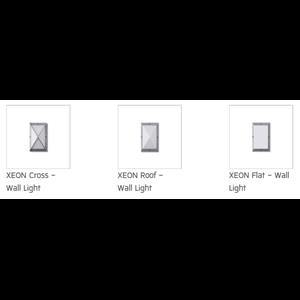 Unilamp Xeon Wall Light