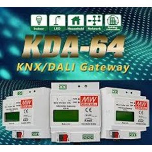 Meanwell KNX to DALI Gateway KDA-64