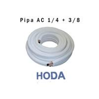 Pipa AC 1/4X3/8 Hoda