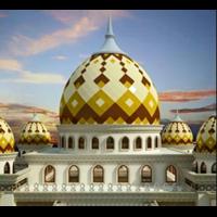 Kubah Masjid Panel Enamel 1